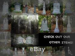 Evil Soul Studios Gravely Cemetery Entrance Columns Halloween Prop Yard Decor