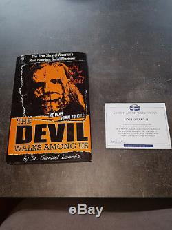 Extremely Rare! Halloween 2 Dr. Loomis Devil Walks Among Us Screen Used Book