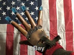 Freddy Krueger Glove Syringe Needle Dream Warriors Prop Replica Horror Halloween