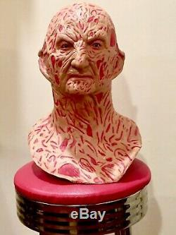 Freddy Krueger Mask Bust Elm Street 3 Prop Halloween 80s Horror