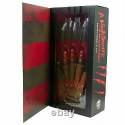 Freddy Krueger Nightmare On Elm Street Deluxe Halloween Costume Metal Glove Prop