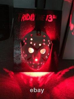 Friday the 13th Jason Mask LED Wall Display Halloween Freddy