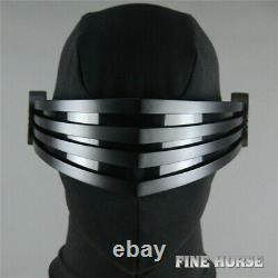 G. I. JoeThe Rise of Cobra Snake Eyes Cosplay Mask PVC Halloween Cosplay Props