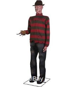 GEMMY Lifesize ANIMATED FREDDY KRUEGER Halloween Prop HAUNTED HOUSE