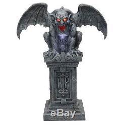 Gargoyle Stone Gothic crypt-keeper haunted Halloween celebration