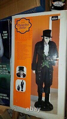 Gemmy 2006 Life Size Edwardian Butler Withbox Halloween Prop Great Shape