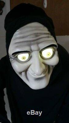 Gemmy Life Size Egor Hunchback Greeterbutler Halloween Animated Prop Animatronic