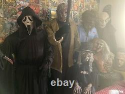 Gemmy Life Size Ghostface Spirit Halloween Animatronic Animated RARE Scream 2011