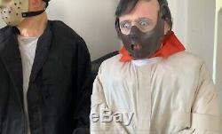 Gemmy Life Size Hannibal Lecter Silence Lambs Halloween Animated Prop Spirit