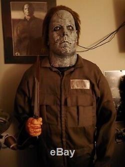 Gemmy Michael Myers 2009 Spirit Halloween Animated Halloween Prop Lifesize