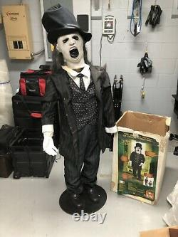 Gemmy Spirit Halloween Animated Lifesize Prop Decor Ghastly Groom For Parts/repa