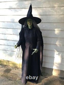 Gemmy Wizard of OZ Wicked Witch LIFESIZE PROP