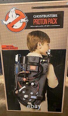 Ghostbusters Proton Pack Prop Spirit Halloween. Light and Sounds New