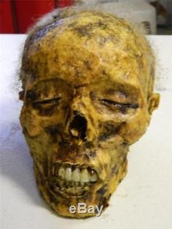 HALLOWEEN HORROR MOVIE PROP Realistic Human Corpse Head THE SLEEPER