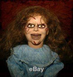HAUNTED Exorcist Ventriloquist doll EYES FOLLOW YOU dummy puppet