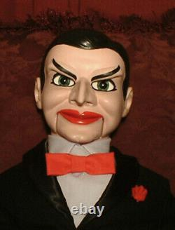 HAUNTED Ventriloquist Doll EYES FOLLOW YOU dummy puppet creepy Halloween prop