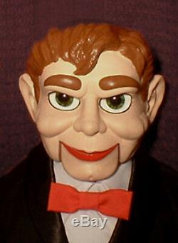 HAUNTED Ventriloquist doll EYES FOLLOW YOU Creepy Slappy dummy puppet oddity