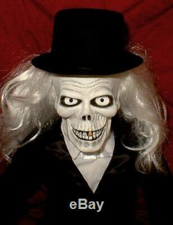 HAUNTED Ventriloquist doll EYES FOLLOW YOU dummy puppet Hatbox ghost skull