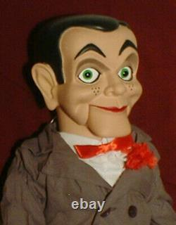 HAUNTED Ventriloquist doll EYES FOLLOW YOU puppet creepy dummy Slappy OOAK