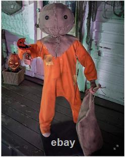 Halloween 4.3 Ft Sam Animatronic Decoration-Trick'r Treat