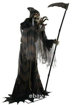 Halloween Animated Lunging Reaper Prop Decoration Haunted House