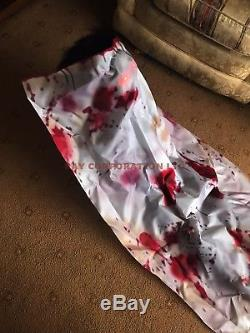 Halloween Animated Moving Body Corpse Sound Lights Party Prop LIFESIZE