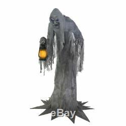 Halloween Animatronic WAILING PHANTOM 7' Prop Haunted House Seasonal Visions