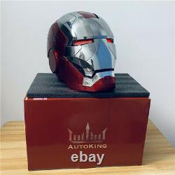Halloween AutoKing 11 MK5 Iron Man Helmet Voice-controlled Deformed Wearable