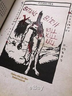 Halloween Evil Dead Book of the Dead Necronomicon Illustrations Prop Ash 2013
