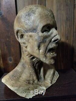 Halloween Horror Dead Zombie Prop Head & Hands Haunted House SCARY