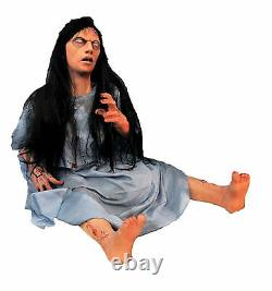 Halloween Life Size Animated Demented Mental Patient Prop Decoration Animatronic