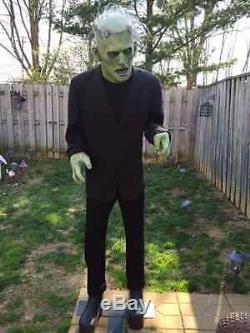 Halloween LifeSize Non Animated FRANKENSTEIN MONSTER LEGENDS Prop Haunted House