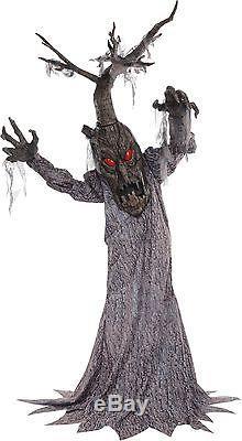 Halloween Lifesize Animated HAUNTED DEADWOOD TREE Prop Haunted House Decoration
