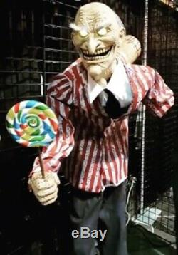 Halloween Lifesize Animated MR HAPPY CANDY CREEP CLOWN Prop NEW 2020 PRE ORDER
