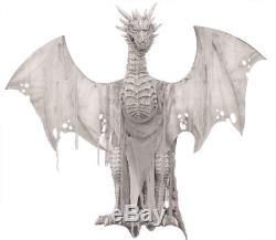 Halloween Lifesize Animated WINTER DRAGON 7 FOOT Prop Haunted House Pre-Order