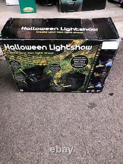 Halloween Lightshow Gemmy Rare Bnib Htf Animated Lights Props Spirit Halloween