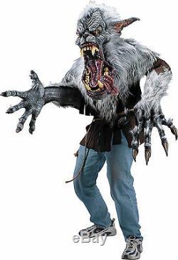 Halloween Prop Midnight Howl Werewolf Creature Reacher Costume Mask Mens
