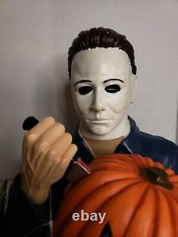 Halloween The Curse Of Michael Myers Light Up Ceramic Statue Spirit Halloween