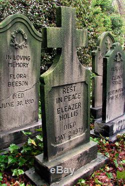 Halloween Tombstone HAUNTED HOUSE GRAVESTONE Halloween Prop Headstone