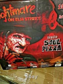 Halloween prop FREDDY KRUEGER SOUL PIZZA. Animated. Nightmare On Elm Street 4