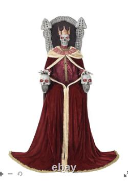 Halloween prop decor Decorations 7 Ft Emperor of Souls Animatronic Big Sale