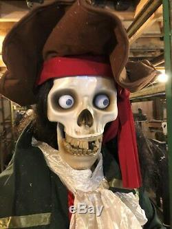 Haunted House Lifesize Movie Prop Tall Statue Pirate Halloween Animated More