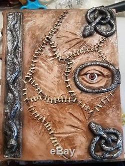 Hocus Pocus spell book prop halloween decoration latex necronomicon prop costume