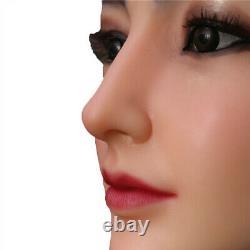 IMI Angel Face Silicone Female Headwear Halloween Movie Props For Crossdresser