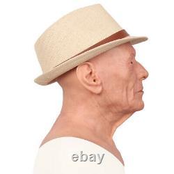 IMI Diss Realistic Silicone Old Man Headwear For Crossdresser