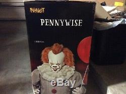 IT CLOWN Halloween 6.5 Ft Pennywise Animatronic Decoration Spirit Halloween Prop
