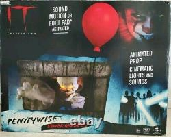 IT Pennywise Chapter 2 Animated Sewer Grabber Halloween Prop Party City Clown