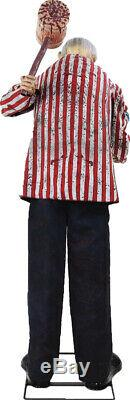 In Stock Halloween Animated Life Size Candy Creep Old Man Prop Decoration
