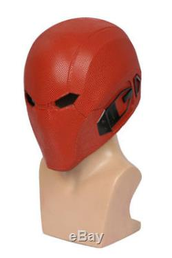 Injustice 2 Red Hood Helmet Cosplay Costume Prop Mask Adult Game Halloween Party