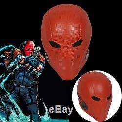 Injustice 2 Red Hood Helmet Cosplay Costume Prop Mask Adult Game Halloween Show